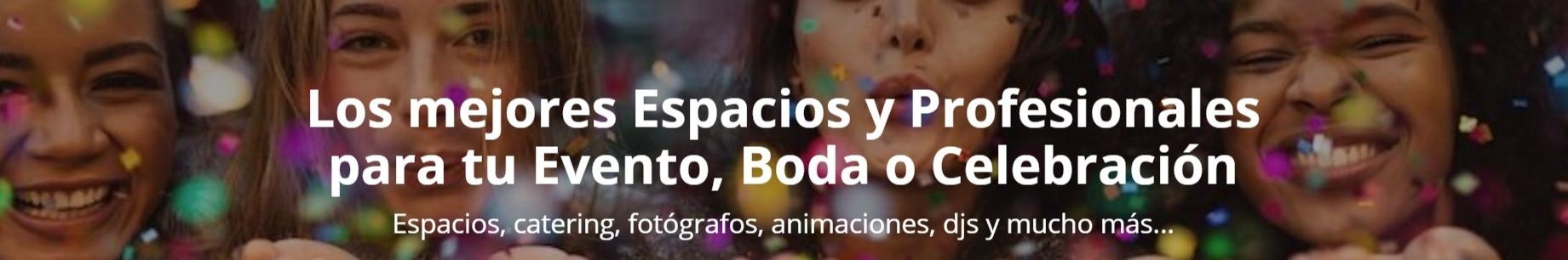 Celebrents - Espacios, catering, fotógrafos, animaciones