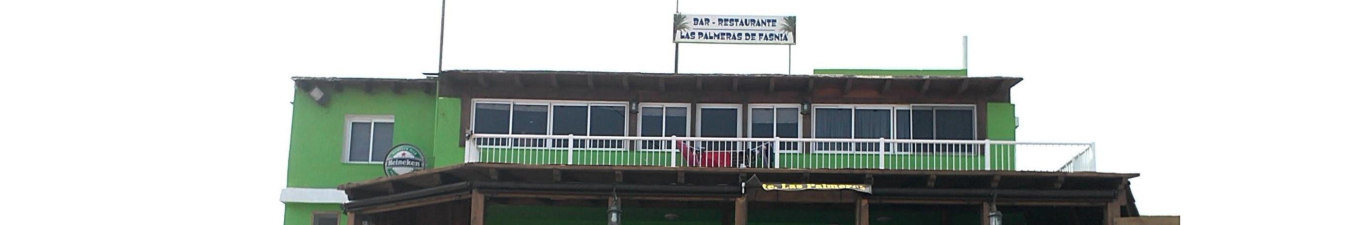 Restaurante las palmeras de fasnia