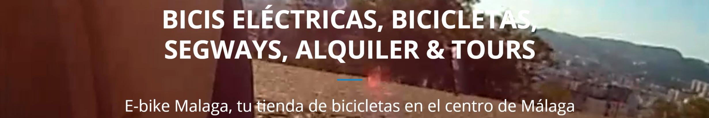 Ebike Bicicletas eléctricas Malaga