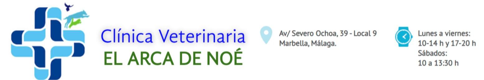Clínica Veterinaria EL ARCA DE NOÉ en Marbella