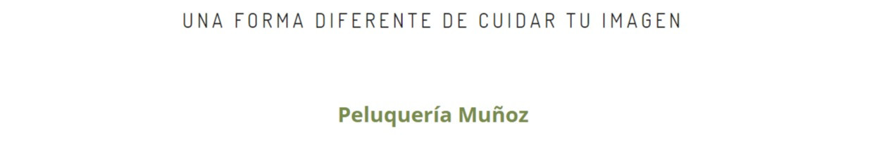 Peluquería Muñoz