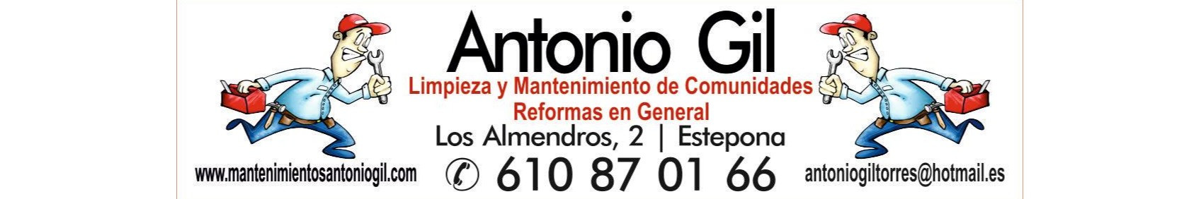 Antonio Gil Mantenimiento