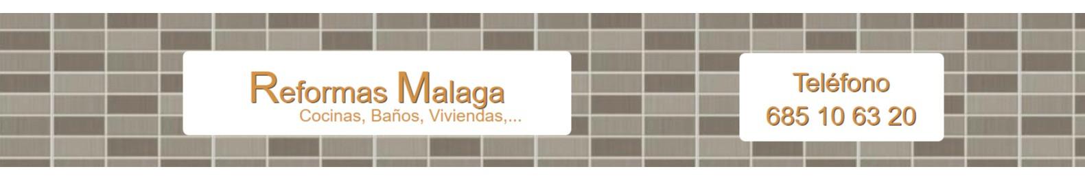 Reformas en Málaga