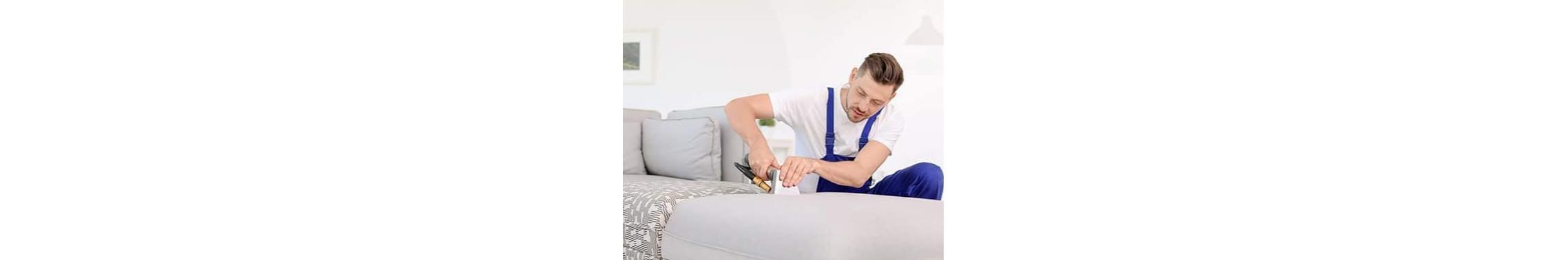 Limpieza profesional de muebles tapizados, sofás, colchones
