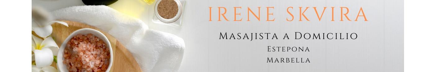 Masajista a domicilio por el área de Estepona y Marbella